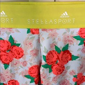 Adidas Stellasport climalite flower leggings